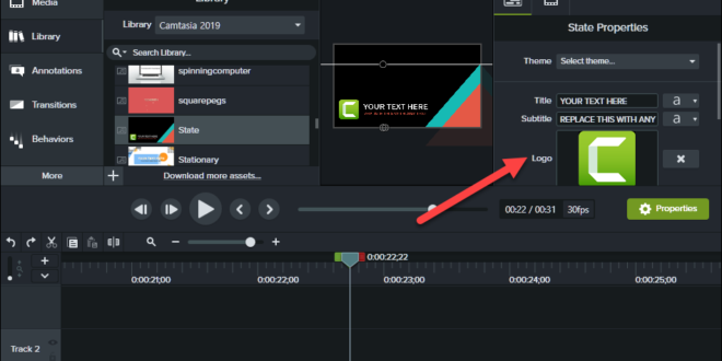 TechSmith Camtasia 2019: Installation(Test Version)