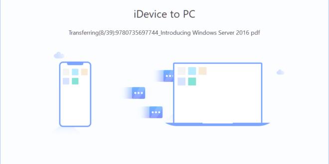 EaseUS MobiMover: 내 아이폰/아이패드의 파일을 PC(macOS)로 옮기기