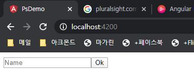 Name  x pluralsightcor x  O localhost4200  Ok  Angular